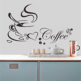 cheap Decoration Stickers-Wall Decal Decorative Wall Stickers - Plane Wall Stickers Characters Re-Positionable Removable
