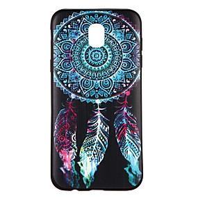voordelige Galaxy J3 Hoesjes / covers-hoesje Voor Samsung Galaxy J7 (2017) / J5 (2017) / J5 Patroon Achterkant Dromenvanger Zacht TPU