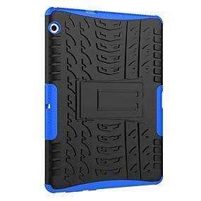 voordelige Mobiele telefoonhoesjes-hoesje Voor Huawei MediaPad T3 10(AGS-W09, AGS-L09, AGS-L03) Schokbestendig / met standaard / Schild Achterkant Tegel / Schild Hard PC voor Huawei MediaPad T3 10(AGS-W09, AGS-L09, AGS-L03)