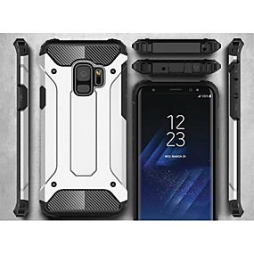 voordelige Galaxy S7 Edge Hoesjes / covers-hoesje Voor Samsung Galaxy S9 / S9 Plus / S8 Plus Schild Achterkant Schild Hard Metaal