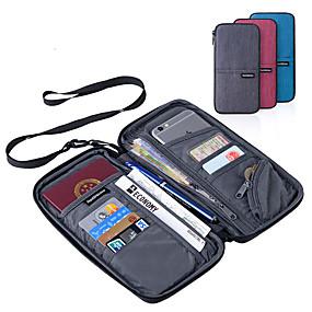 economico Accessori da viaggio-Portadocumenti Portatile Multi-funzione Accessori per valigia Poliestere 22.5*12cm cm