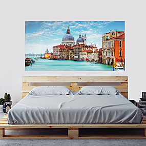 cheap Decoration Stickers-Wall Decal Decorative Wall Stickers - 3D Wall Stickers Landscape 3D Re-Positionable Removable