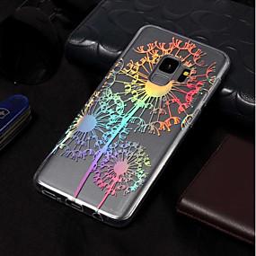 voordelige Galaxy S7 Edge Hoesjes / covers-hoesje Voor Samsung Galaxy S9 / S9 Plus / S8 Plus IMD / Patroon Achterkant Paardebloem Zacht TPU