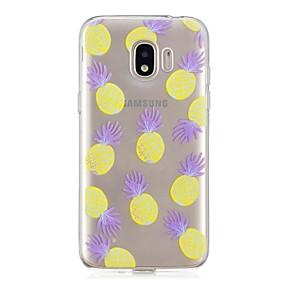 voordelige Galaxy J3(2017) Hoesjes / covers-hoesje Voor Samsung Galaxy J7 (2017) / J5 (2017) / J3 (2017) Transparant / Patroon Achterkant Fruit Zacht TPU