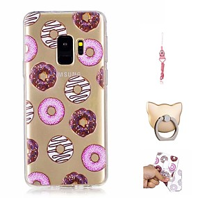 halpa Galaxy S -sarjan kotelot / kuoret-Etui Käyttötarkoitus Samsung Galaxy S9 Plus / S9 Kuvio Takakuori Ruoka Pehmeä TPU varten S9 / S9 Plus