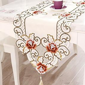 baratos Casa & Cozinha-Moderna PVC Quadrada Toalhas de Mesa Floral Decorações de mesa 1 pcs