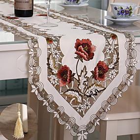 economico Cucina e utensili da cucina-Moderno PVC Quadrato Tovaglie Fantasia floreale Decorazioni da tavola 1 pcs