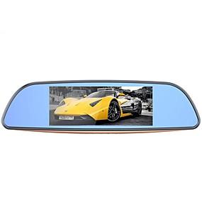 זול Araba DVR-Camlive H2 1080p ראיית לילה רכב DVR 170 מעלות זווית רחבה 7 אִינְטשׁ דש קאם עם GPS / G-Sensor / הקלטה בלופ רכב מקליט / ADAS