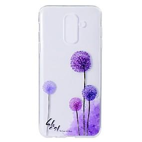 voordelige Galaxy A5(2016) Hoesjes / covers-hoesje Voor Samsung Galaxy A5(2018) / A6 (2018) / A6+ (2018) Patroon Achterkant Paardebloem Zacht TPU