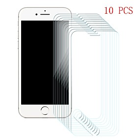 cheap iPhone 6s / 6 Screen Protectors-Screen Protector for Apple iPhone 6s / iPhone 6 Tempered Glass 10 pcs Front Screen Protector 9H Hardness / Scratch Proof