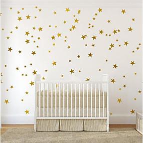 cheap Decoration Stickers-Decorative Wall Stickers - Plane Wall Stickers Stars Nursery / Kids Room