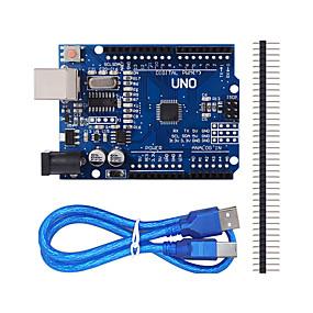 preiswerte 10 % RABATT & Mehr-verbesserte Version uno r3 ATmega328P Board für Arduino kompatibel