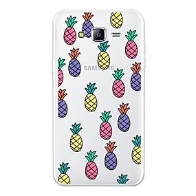 voordelige Galaxy J7 Hoesjes / covers-hoesje Voor Samsung Galaxy J7 (2017) / J7 (2016) / J7 Patroon Achterkant Fruit Zacht TPU