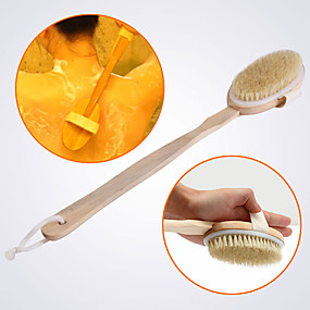 cheap Bathroom Gadgets-Bath Mitts & Cloths Multi-function / Removable / Easy to Use Modern Bristle Brush / Wood 1pc - cleaning Sponges & Scrubbers