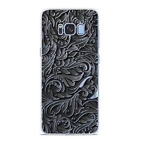 voordelige Galaxy S7 Hoesjes / covers-hoesje Voor Samsung Galaxy S9 / S9 Plus / S8 Plus Patroon Achterkant Lijnen / golven Zacht TPU