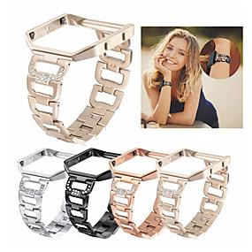 economico Cinturini per Fitbit-Cinturino per orologio  per Fitbit Blaze Fitbit Cinturino sportivo Acciaio inossidabile Custodia con cinturino a strappo