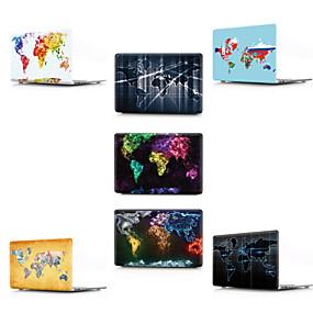 """abordables Accesorios Apple-MacBook Funda Mapa / Dibujo 3D CLORURO DE POLIVINILO para Nuevo MacBook Pro 13"""" / MacBook Air 13 Pulgadas / MacBook 12''"""