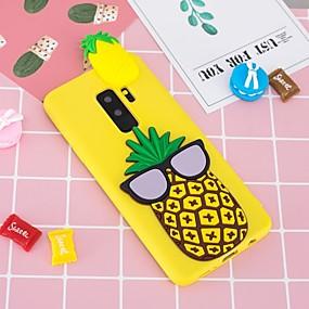 voordelige Galaxy S7 Hoesjes / covers-hoesje Voor Samsung Galaxy S9 / S9 Plus / S8 Plus Patroon / DHZ Achterkant Fruit Zacht TPU