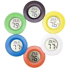 voordelige Aquarium Verwarming & Thermometers-Aquaria Thermometers Mini W Batterij V Muovi