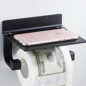 povoljno Gadgeti za kupaonicu-Držač toaletnog papira New Design / Cool Moderna Aluminijum 1pc Držači za toaletni papir Zidne slavine