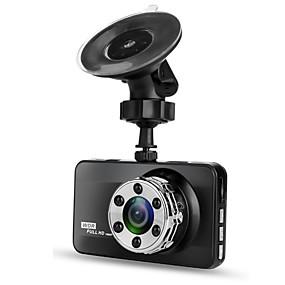 voordelige Auto DVR's-T638 Single Lens 720p / 1080p Nieuw Design / HD / Cool Auto DVR 170 graden Wijde hoek 3 inch(es) LTPS Dash Cam met Nacht Zicht / G-Sensor / Bewegingsdetectie Neen Autorecorder / Continu-opname