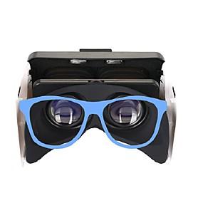 7edcf7216 baratos Óculos VR-Óculos 3D Azul VR Virtual Reality Glasses Cubóide Silicone