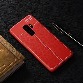 voordelige Galaxy S7 Hoesjes / covers-hoesje Voor Samsung Galaxy S9 / S9 Plus / S8 Plus Doorzichtig Achterkant Effen Zacht TPU
