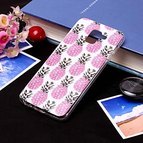 voordelige Galaxy J3 Hoesjes / covers-hoesje Voor Samsung Galaxy J8 (2018) / J7 (2017) / J7 (2018) IMD / Patroon Achterkant Fruit Zacht TPU