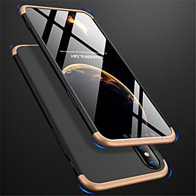 levne iPhone pouzdra-Carcasă Pro Apple iPhone XR / iPhone XS Max Matné Celý kryt Jednobarevné Pevné PC pro iPhone XS / iPhone XR / iPhone XS Max