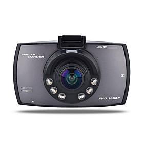 voordelige Auto DVR's-720 p auto dvr 170 graden groothoek 12.0mp cmos 2.7 inch tft lcd monitor dash cam met bewegingsdetectie 6 infrarood leds autorecorder