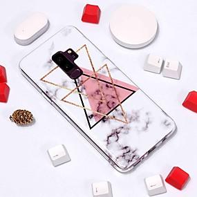 halpa Galaxy S -sarjan kotelot / kuoret-Etui Käyttötarkoitus Samsung Galaxy S9 Plus / S8 Kuvio Takakuori Marble Pehmeä TPU varten S9 / S9 Plus / S8 Plus