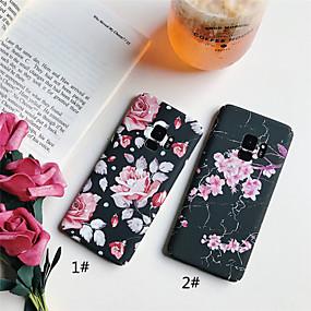 voordelige Galaxy S7 Edge Hoesjes / covers-hoesje Voor Samsung Galaxy S9 / S9 Plus / S8 Plus Mat / Patroon Achterkant Bloem Hard PC
