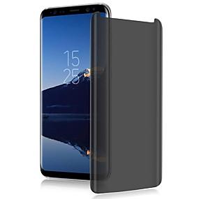 billige Cooho®-cooho fuld buet anti spy hærdet glas til Samsung Galaxy S8 S8 plus S8 + Beskyt privatlivets skærmbeskytter glas film