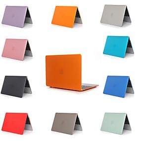 billige Apple-tilbehør-macbook laptop taske til æble macbook air 11 12 13 15 solid farvet pvc materiale til mac bog ny pro 13.3 15 tommer med touch bar