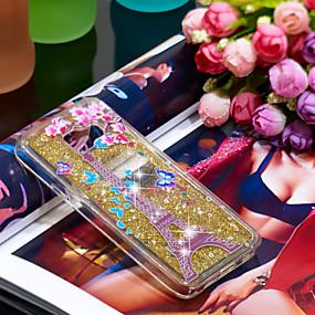 voordelige Galaxy A3(2016) Hoesjes / covers-hoesje Voor Samsung Galaxy A3(2016) Schokbestendig / Glitterglans Achterkant Eiffeltoren / Glitterglans Zacht TPU