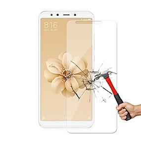 Недорогие Защитные плёнки для экрана-Защитная плёнка для экрана для XIAOMI Xiaomi Mi 6X(Mi A2) Закаленное стекло 1 ед. Защитная пленка для экрана Уровень защиты 9H / Защита от царапин