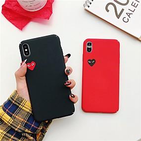 levne iPhone pouzdra-sezónní pouzdro pro Apple iphone xr xs xs max ultra tenký / matný / vzor zadní kryt srdce tvrdé PC pro iPhone x 8 8 plus 7 7plus 6s 6s plus se 5 5s