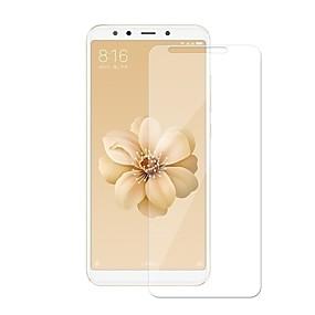 billige Skærmbeskyttelse-Skærmbeskytter for XIAOMI Xiaomi Mi 6X(Mi A2) Hærdet Glas 1 stk Skærmbeskyttelse 9H hårdhed / Ridsnings-Sikker