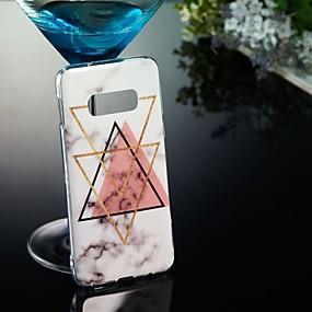 halpa Galaxy S -sarjan kotelot / kuoret-Etui Käyttötarkoitus Samsung Galaxy Galaxy S10 / Galaxy S10 Plus / Galaxy S10 E Kuvio Takakuori Marble Pehmeä TPU varten S9 / S9 Plus / S8 Plus