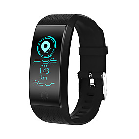 cheap Smart Wristbands-QW18 Men Smart Bracelet Smartwatch Android iOS Bluetooth Smart Sports Waterproof Heart Rate Monitor Touch Screen Stopwatch Pedometer Call Reminder Activity Tracker Sleep Tracker / Gravity Sensor
