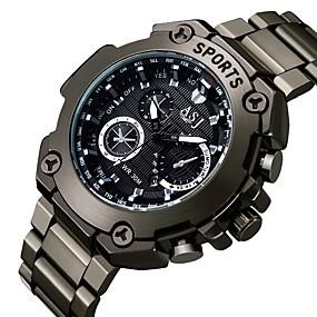 Недорогие Фирменные часы-ASJ Муж. Нарядные часы Японский кварц Черный Календарь Аналоговый Классика На каждый день Мода - Белый Красный Синий Один год Срок службы батареи / SSUO SR626SW + CR2025