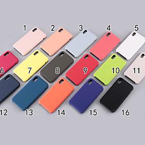 levne Pouzdra iPhone XS-Carcasă Pro Apple iPhone XR / iPhone XS Max Matné Zadní kryt Jednobarevné Měkké Silica gel pro iPhone XS / iPhone XR / iPhone XS Max