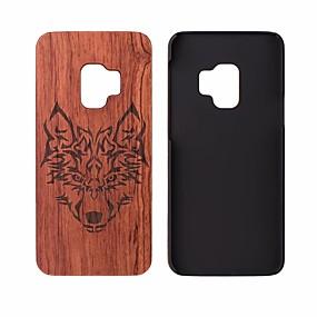 Χαμηλού Κόστους Θήκες / Καλύμματα Galaxy S Series-tok Για Samsung Galaxy S9 Ανθεκτική σε πτώσεις Πίσω Κάλυμμα Νερά ξύλου Σκληρή Ξύλινος για S9 / S9 Plus