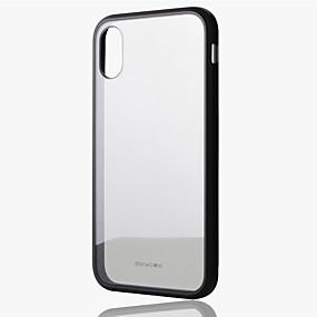 levne iPhone pouzdra-Beiyo Carcasă Pro Apple iPhone X / iPhone XS Nárazuvzdorné Zadní kryt Průhledný Pevné TPU / Akrylát / Silikon pro iPhone XS / iPhone X