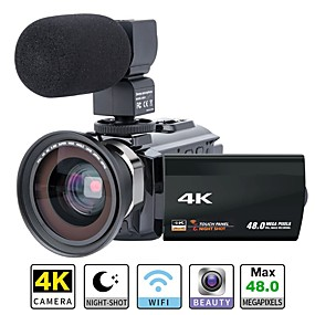 billige Sportskameraer og GoPro-tilbehør-QQT P13 16 mp 1920 x 1080 Pixel Kan fjernes / Fest / Hot Salg 1080P / 60fps / 120fps 8X -4/3 4.1 inch 16 MP CMOS 64 GB H.264 Enkeltfoto / Uafbrudt fotografering / Timelapse Nej