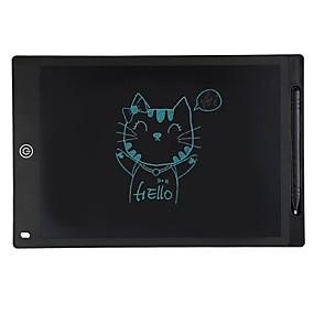 abordables Tabletas Gráficas-LITBest Tablero electrónico para niños Tablero de escritura Dibujo electrónico Doodle Board 12 pulgada LCD