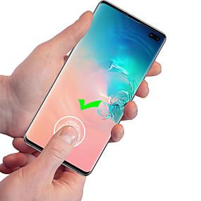 halpa Samsung suojakalvot-Näytönsuojat varten Samsung Galaxy S9 / S9 Plus / S8 Plus TPU Hydrogel 1 kpl Koko laitteen suoja Teräväpiirto (HD) / Räjähdyksenkestävät / Ultraohut