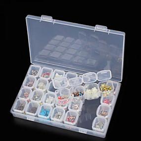 economico Accessori da viaggio-Scatola di immagazzinaggio Multi-funzione / Duraturo Plastica 17.5*11*2.7 cm cm