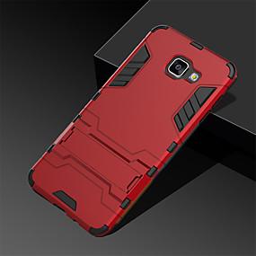 voordelige Galaxy S7 Edge Hoesjes / covers-hoesje Voor Samsung Galaxy S9 / S9 Plus / S8 Plus met standaard Achterkant Schild Hard PC