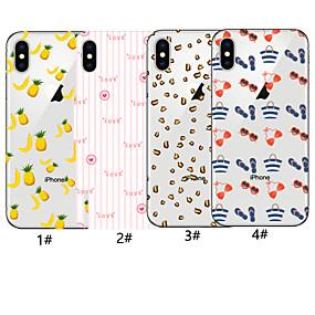 economico Custodie per iPhone 8 Plus-custodia per apple iphone xr / iphone xs modello max copertina posteriore parola / frase / cibo soft tpu per iphone 6 6 plus 6s 6s plus 7 8 7 plus 8 plus x xs